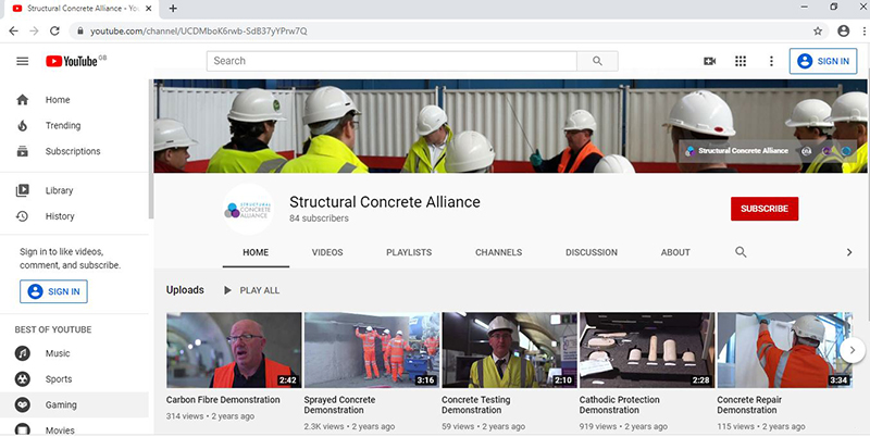 Structural Concrete Alliance offers online learning
