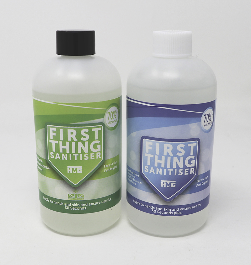 HMG Paints producing hand sanitiser