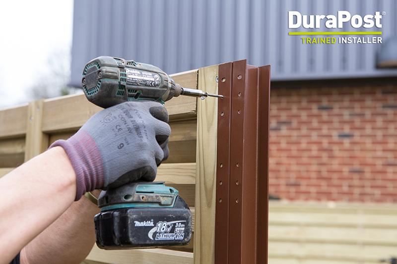 DuraPost installer scheme from Birkdale