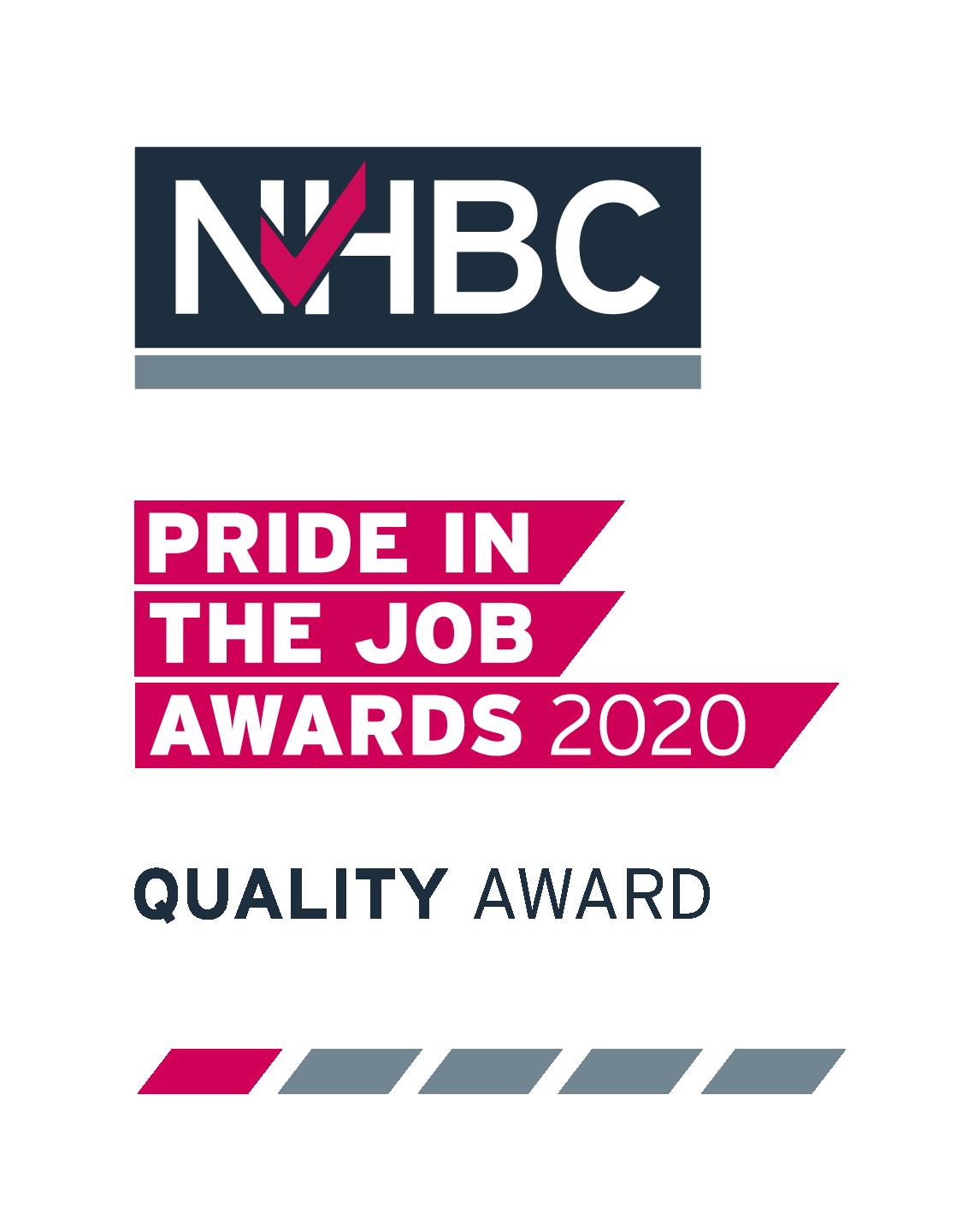 NHBC Pride In The Job 2020 winners