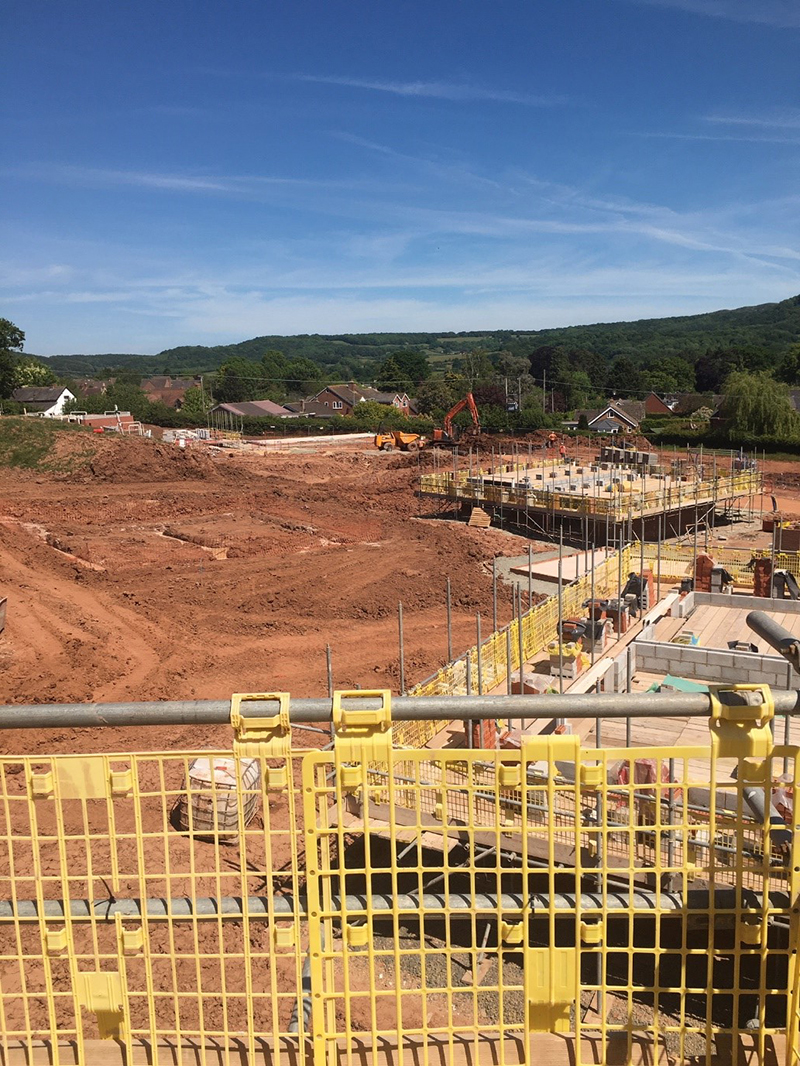 Living Space Housing restarts work at Cradley development