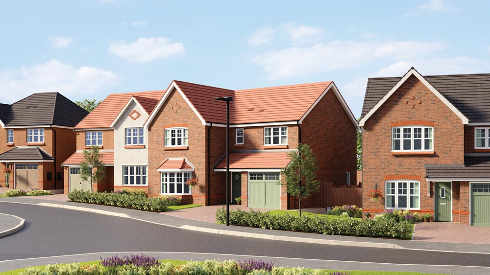 Pent-up demand benefits housebuilder