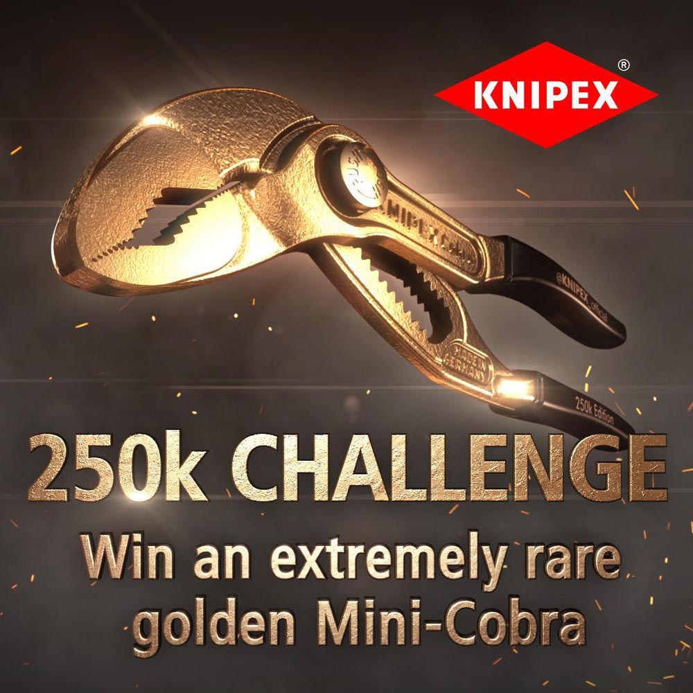 Knipex celebrates 250k followers with competition