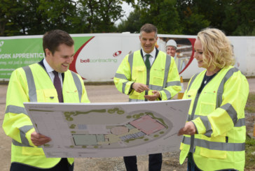 Secretary of State visits site of new centre for construction skills