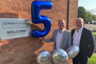Edward Thomas Interiors marks five years in business with '5 for 5' initiative