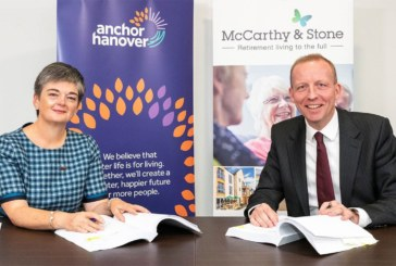 Landmark partnership between Anchor Hanover and McCarthy & Stone launched to deliver 'affordable for all' retirement solutions