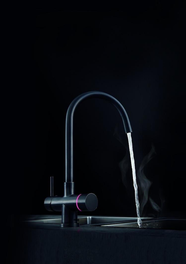 Franke extends Minerva Electronic Instant Boiling Water tap range