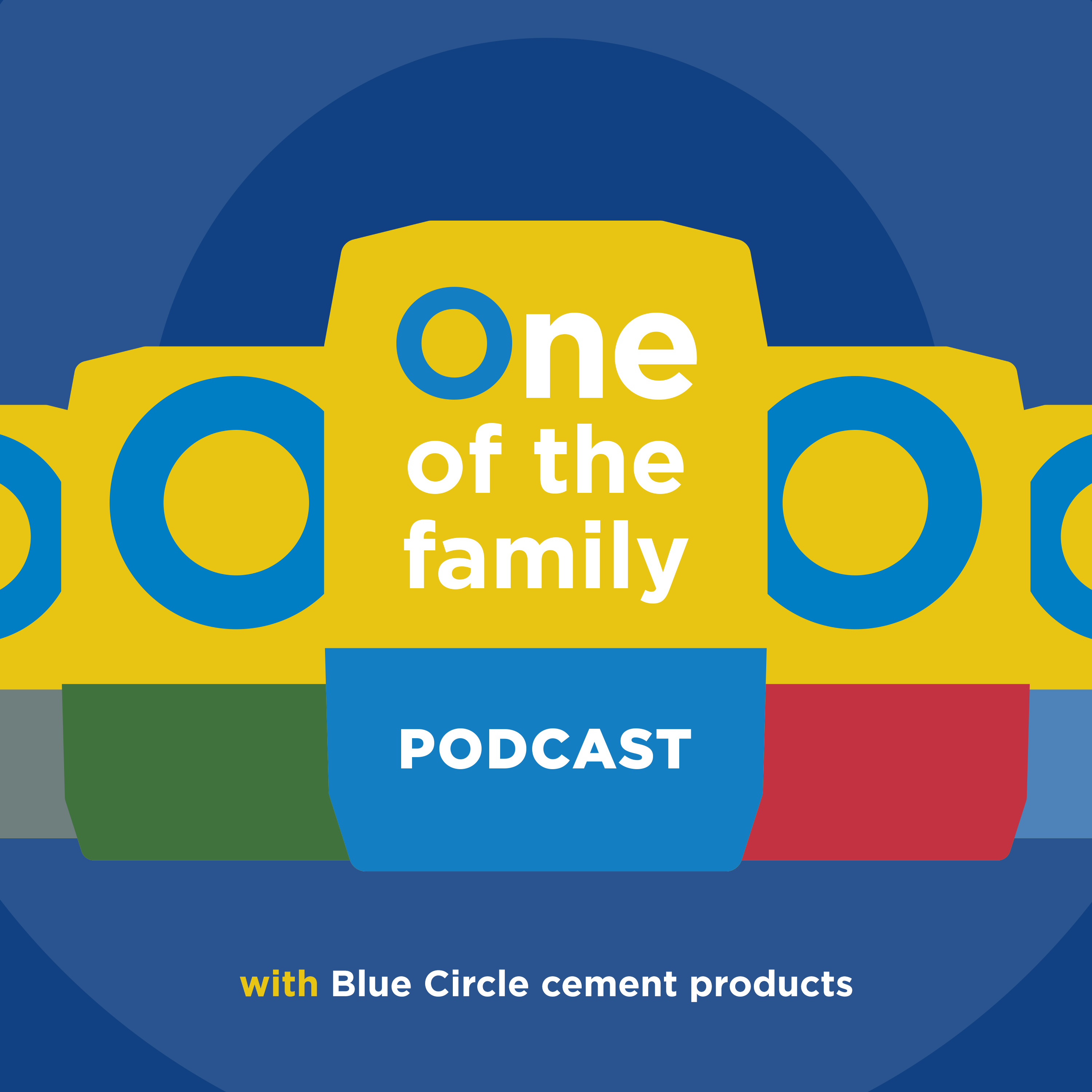 Tarmac launches the Blue Circle 'One of the Family' podcast