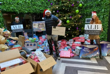 Property developer delivers Christmas cheer to children in hospital