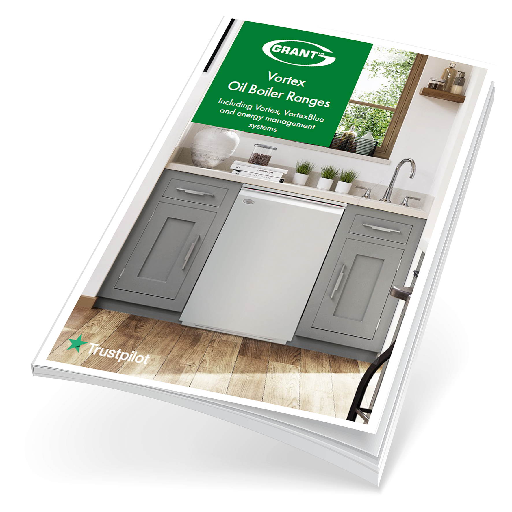 Grant UK unveils new 52 page oil boiler brochure