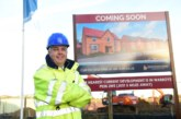 Managing director breaks ground at new homes development in Ramsey
