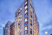 Prefabricated soil stacks help speed Blundell Street development