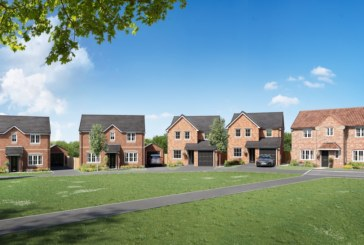 Work starts on new homes in Lea