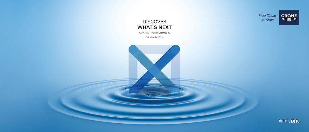 """GROHE launches digital experience hub """"GROHE X"""""""
