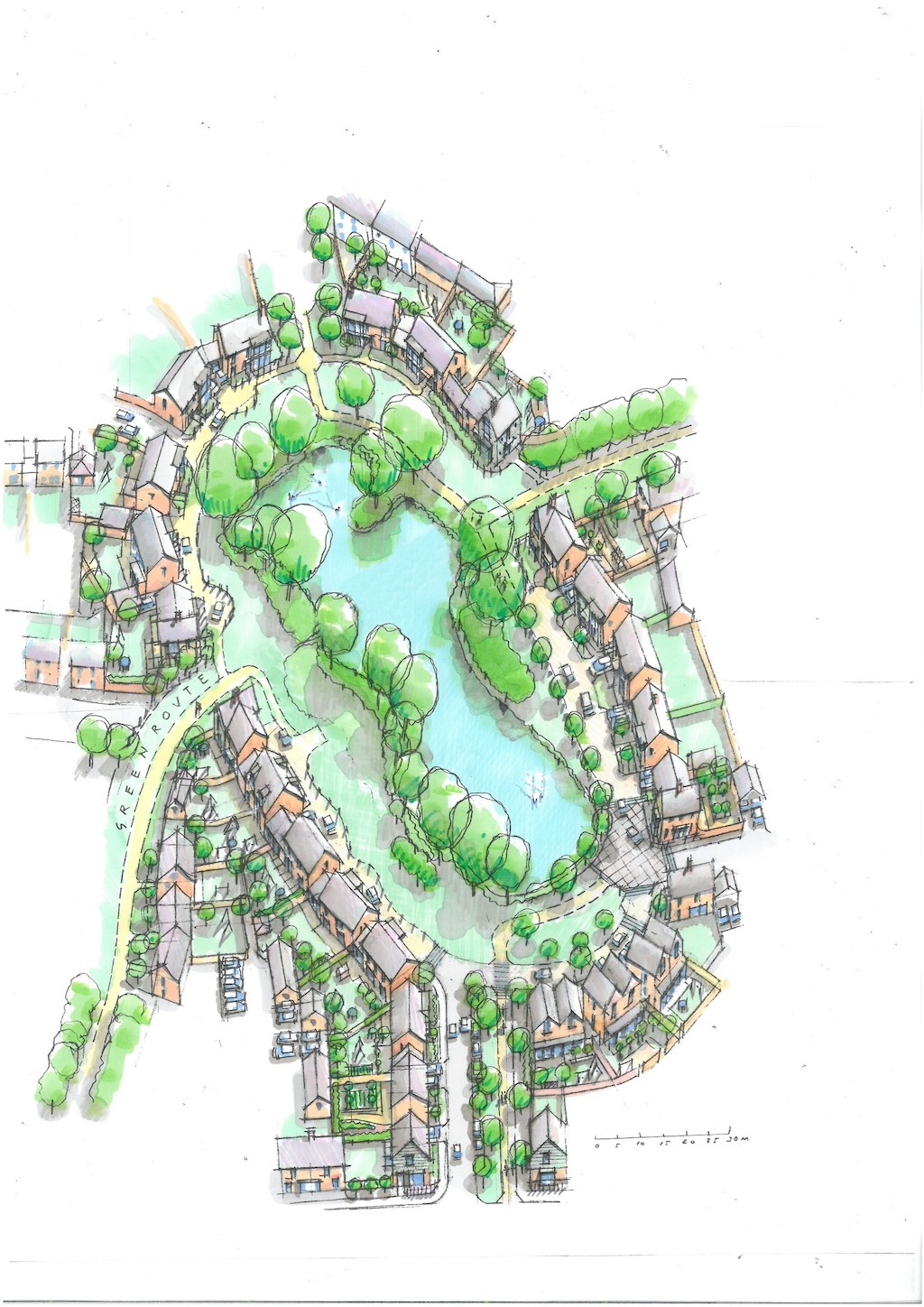 First phase of £115m 72-acre 'canal village' in Warwickshire gets the green light