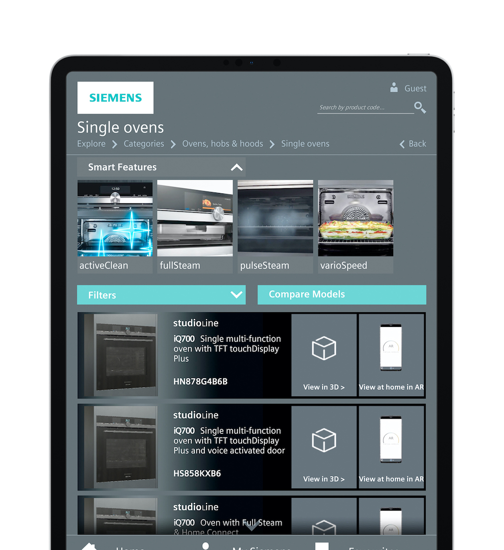 Siemens launches its first virtual brochure