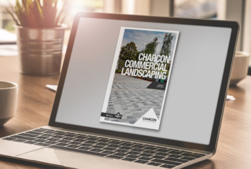 Charcon showcases hard landscaping in new brochure