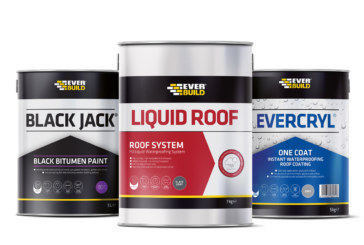 Everbuild announce new range of roofing products
