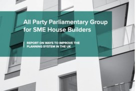 APPG report puts the case for SME house builders