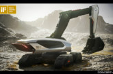 Doosan Concept-X Excavator wins iF Design Gold Award