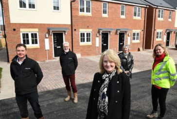 First of 26 homes handed over to Accord Housing at new Telford development