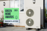 Grant Aerona³ R32 heat pump shortlisted for Green Home Awards