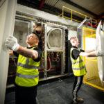 New shower tray line at Kudos Cumbria