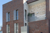 IG Masonry Support's brick slip soffit solutions in use