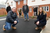 First of 48 homes handed over to Stonewater at the former Victoria Carpets Sports Ground in Kidderminster