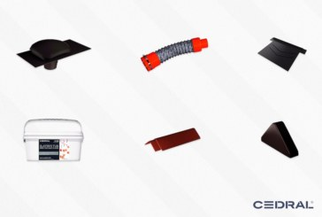 Roofing specialist Cedral launches new accessory range