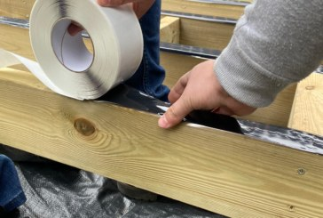 Composite Prime launches industry-first wood tape for decking market