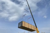 First modules arrive at Scotland's largest affordable modular housing development in South Ayrshire