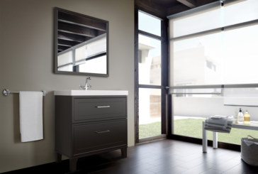 Roca introduces Romea new bathroom furniture with vintage style