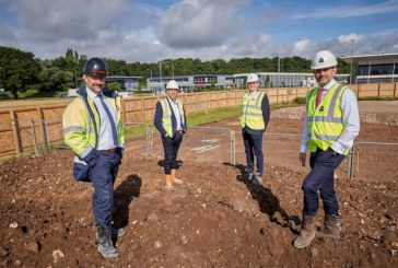 Building begins on Beal's own new home at Wykeland's Bridgehead business park