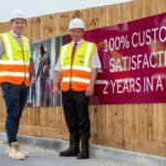 Housebuilding team scores perfect 10 at Royston development