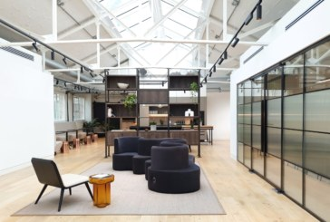 MoreySmith transforms iconic Heal's Building workspace with soothing natural features