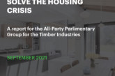 Timber industries report on ways to solve the housing crisis