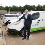 Springfield Properties welcomes first electric van into fleet