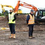 Living Space Housing breaks ground in Warwickshire