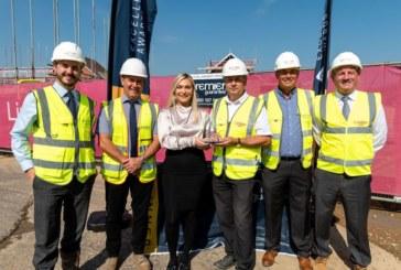 Housebuilder wins national award for Great Yeldham development